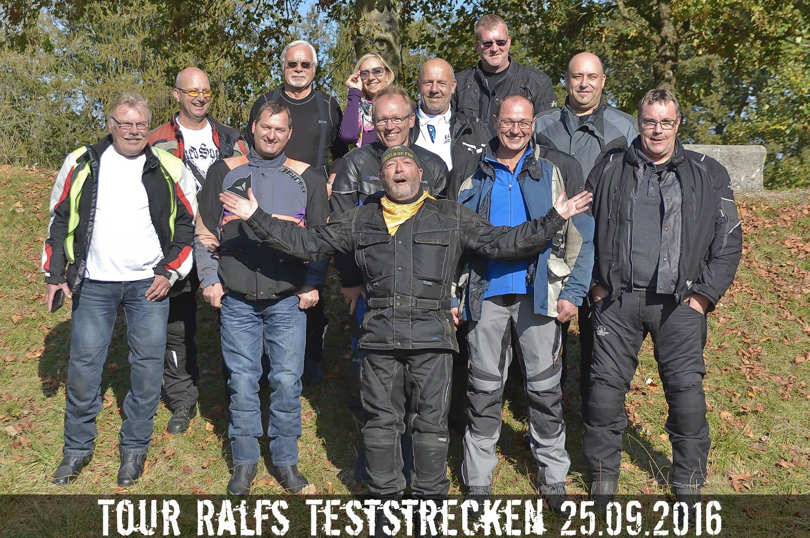rk-moto: Abschlusstour auf  Ralfs Teststrecken