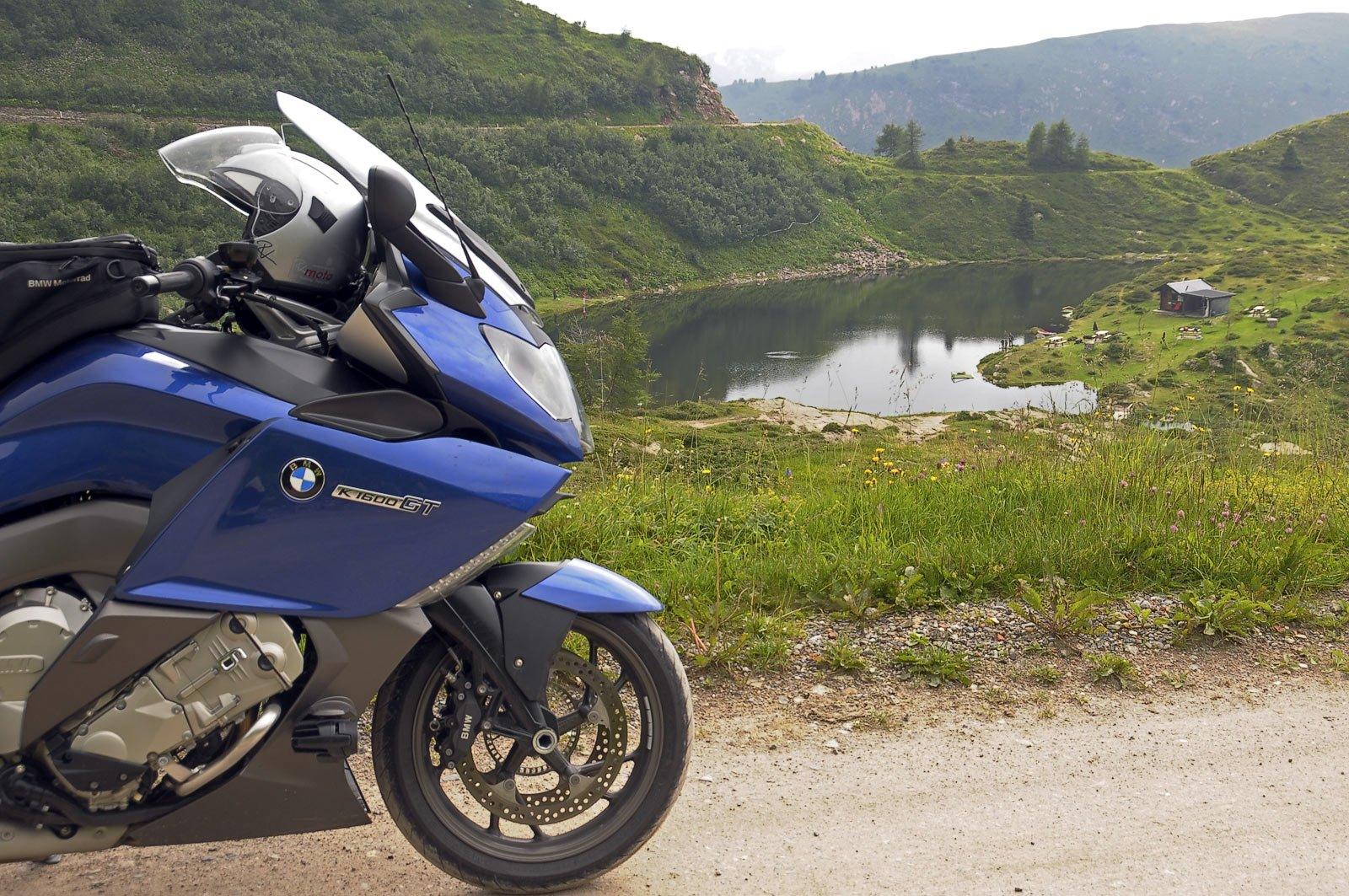 BMW K1600GT - am Croce Domini - totale Ruhe
